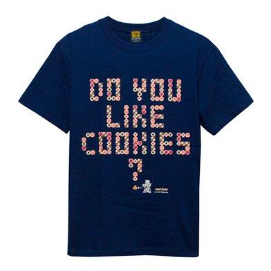 ヨッシーのクッキー Do you Like Cookies? Tシャツ-L