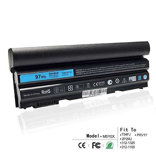 K KYUER 97WH M5Y0X Laptop Akku Replacement for Dell Latitude E6420 E6430 P25G001 E6520 P14F001 E6530 E5420 E5520 E5430 E5530 P28G-001 E6440 E6540 Vostro 3460 3560 Precision M2800 71R31 N3X1D T54FJ