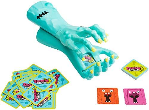 Mattel Games GMY02 - Zombie Schnapp! Lustiges Kinderspiel und Partyspiel für 2 bis 4 Spieler ab 5 Jahren, Deutsche Sprachversion