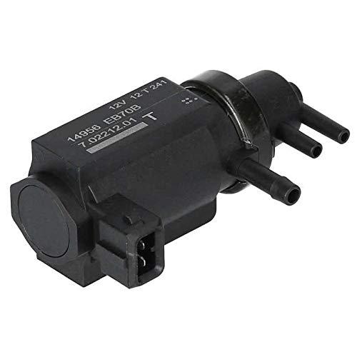 TangMengYun Válvulas de Solenoide Válvula de Control de solenoide de presión de Impulso Turbo de vacío 14956  EB70B Ajuste Compatible con Nissan NP300 Navara D40 2.5 DCI