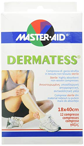 Master Aid Dermatess 18 x 40 cm 12 Pezzi - 1 Prodotto
