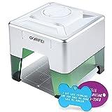 GORIFEI Laser Engraving Machine, Mini Desktop Laser Engraver, Laser Etcher Printer Cutter Personalized Engraving Tool, DIY Logo Design Engraver Machine, 98 x 88mm Engraving Area