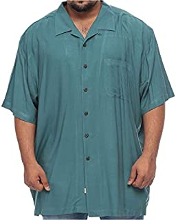 Island Outfitters Rayon Short Sleeve Shirt for Men