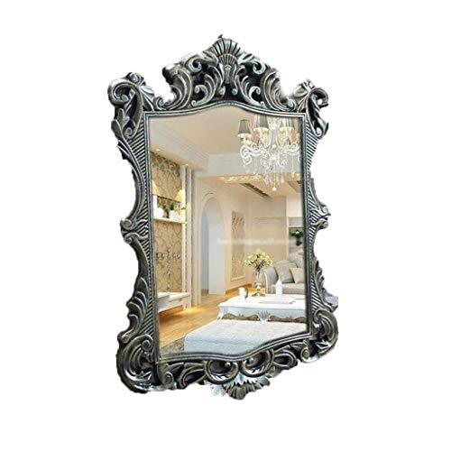 Espejo de pared Gcgg para decoración de espejo de pared, marco ornamentado de 41,9 x 58,9 cm pulgadas y espejo de belleza fácil de instalar (color bronce).