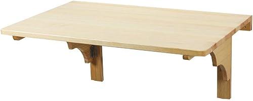 los nuevos estilos calientes BJYG Mesa Plegable Mesa de Parojo de Madera Maciza Mesa Mesa Mesa de Comedor Multifuncional Plegable Mesa de Comedor Mesa Lateral (Tamaño  80  100 cm)  mejor opcion