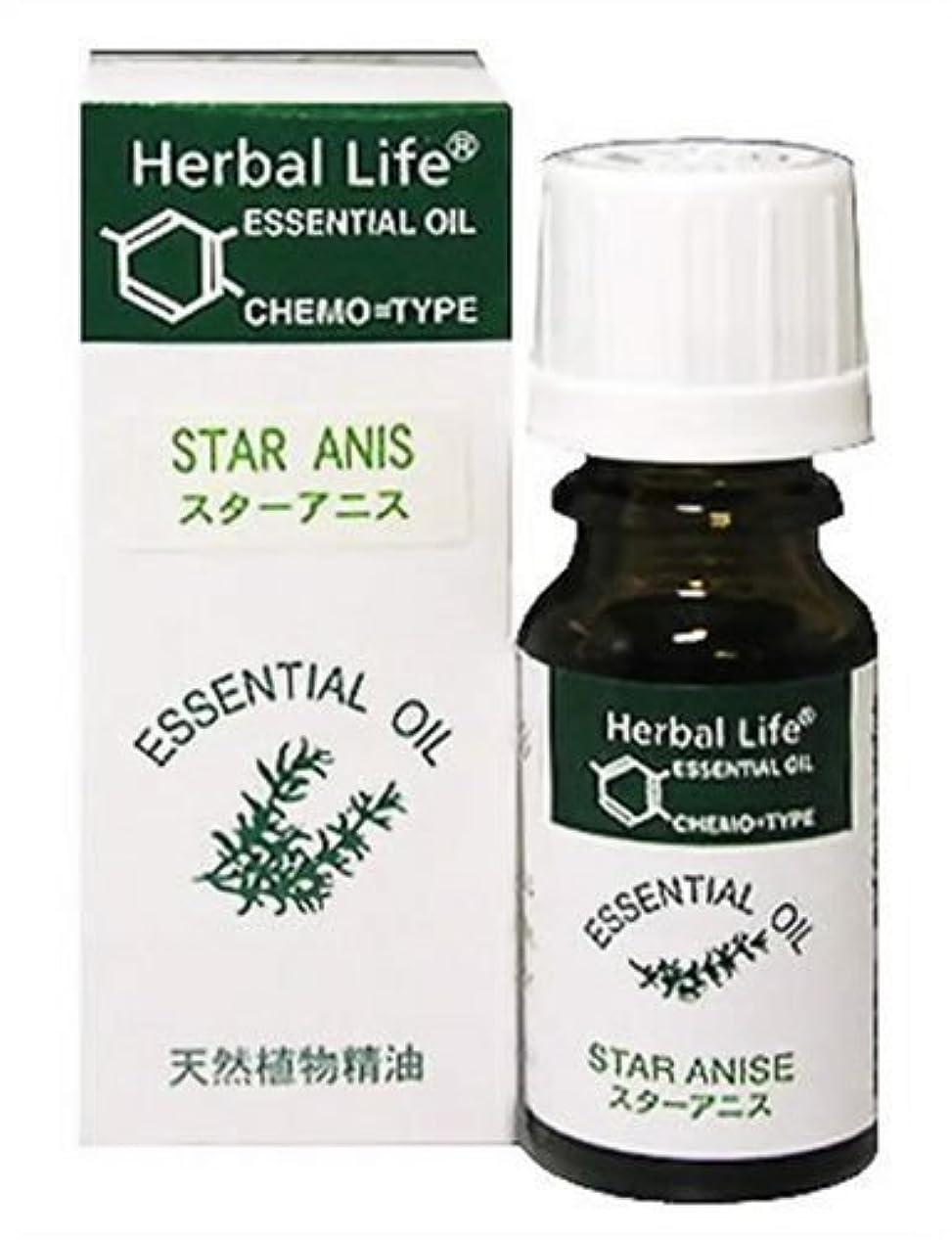 半径一時停止小道Herbal Life スターアニス 10ml