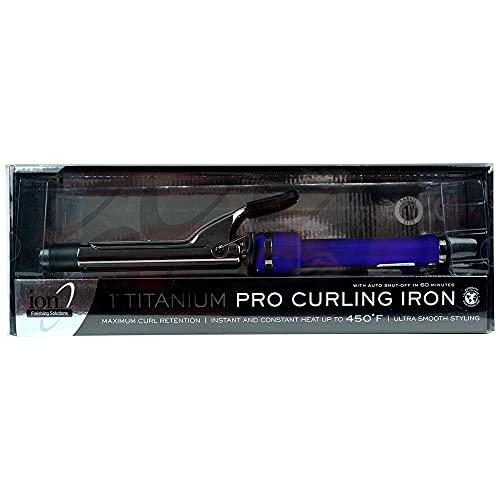 Ion Titanium Pro Curling Iron, 1 inch