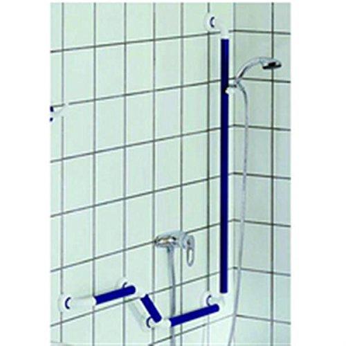 Tube droit blanc - 460 mm - Ø 33 mm - Système polyalu - Pellet ASC