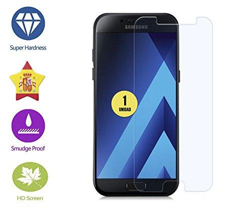 im77r Protector DE Pantalla Premium Cristal Vidrio Templado 9H para Samsung Galaxy A7 2017