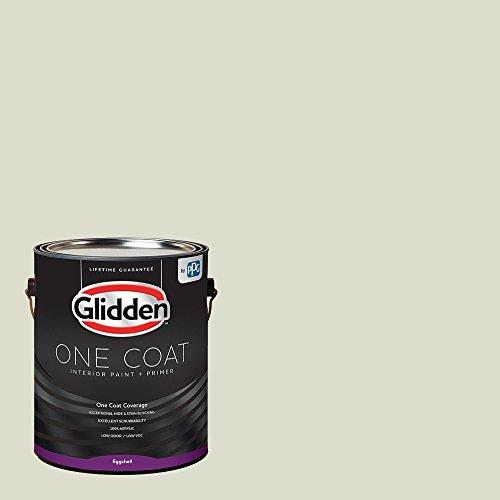 Glidden Interior Paint + Primer: Sage/Pinch of Pistachio, One Coat, Eggshell, 1-Gallon