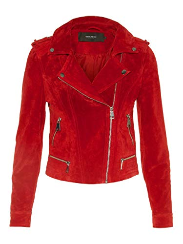 VERO MODA Female Jacke Wildleder SChili Pepper