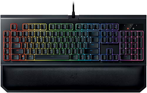 MULTI-AWARD WINNING RAZER MECHANICAL SWITCHES: Designed specifically for gaming. Durable up to 80 million keystrokes INDIVIDUALLY BACKLIT KEYS: Powered by Razer Chroma with 16.8 million customizable color options ERGONOMIC WRIST REST: Ensure long hou...