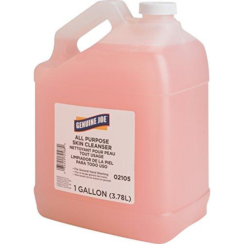 Genuine Joe Liquid Hand Soap with Skin Conditioner, 1 gallon Bottle, Pink