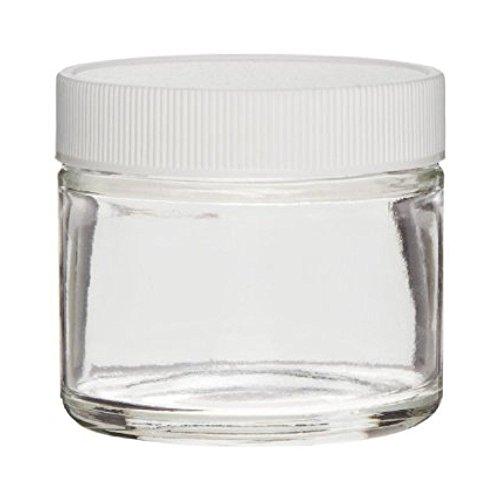 Verre transparent avec couvercle Blanc 2 ml
