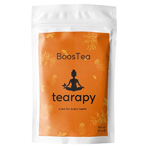 tearapy BoosTea Energy Tea   Oolong and Herbal Tea Blend Help with Tiredness and Fatigue   All Natural 90gram Energy Booster Loose Leaf Tea   UK Product