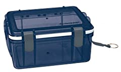 Multipurpose box protects against moisture, dust, dirt, and sand; great for boating, kayaking, fishing, and more Rubber key clip and strap attachment point; O-ring closure for a watertight seal Made from shatterproof translucent polycarbonate; large ...