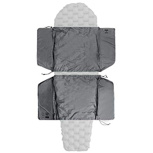 Oak Creek Hammock Sleeping Pad Extender Set – Closed Cell Foam Provides Insulation for Shoulders, Arms, Hips, and Thighs – Adjustable to Fit Over Any Camping Mat