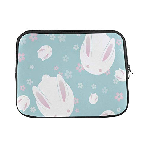 Japanese Cute Bunny Laptop Sleeve Case 17 17.3 Inch Briefcase Cover Protective Notebook Laptop Bag
