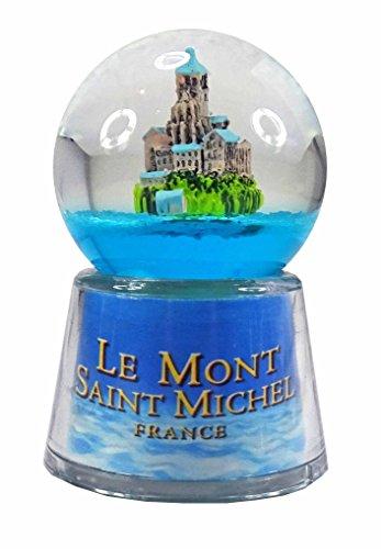 KDO-JOUETS.COM Boule Le Mont St Michel Lumineuse LED - Bleu