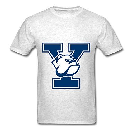 Ty Yale Bulldogs Logo T Shirt para Hombre Light Oxford
