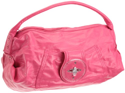 Diesel - Bolso de Hombro Mujer, Color Rosa, Talla