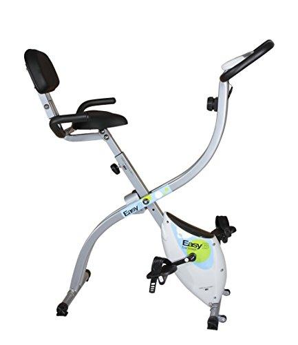 Tecnovita by BH EasyB YFAX91 cyclette da camera pieghevole con schienale grigia