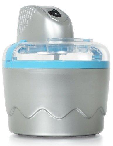 Eismaschine für Eis + Sorbet, Inhalt 0,8L., Speiseeisbereiter mit Schüssel, Eis selbst herstellen