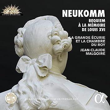 Neukomm: Requiem à la mémoire de Louis XVI (Collection Château de Versailles)