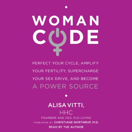 WomanCode audiobook cover art