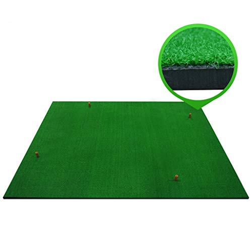 Find Bargain ZTJQD Golf Practice Mat, 150×150cm, Portable Outdoor Sports Golf Training Lawn Indoor ...