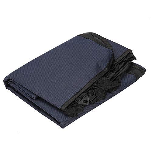 DAUERHAFT Pet SUV Back Seats, Waterproof, Dirt-Proof, Easy to Clean Car, Pet Car Tool(Navy Blue)