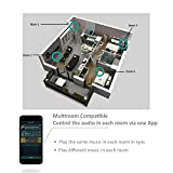 WiFi & Bluetooth Audio Amplifier Receiver | Arylic A50 | Wireless Streaming Airplay DLNA | Multiroom Sync | Hi-Fi Stereo Speaker Compact Home Digital Music System | 24bit 192 kHz Sample Rate | 80W