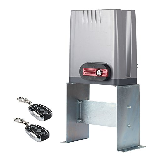 CO-Z Sliding Gate Opener with Wireless Remotes,...