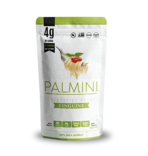 Palmini Low Carb Linguine | 4g of Carbs | As Seen On Shark Tank | (12 Ounce - Pack of 1)
