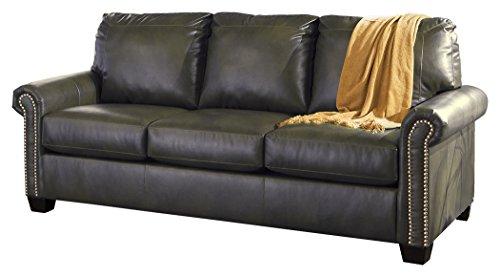 Signature Design by Ashley Lottie Durablend Slate Queen Sleeper Sofa