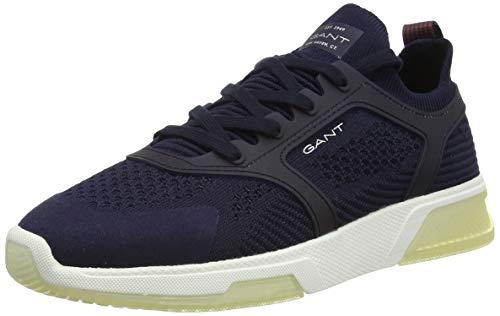 GANT Footwear Herren HIGHTOWN Sneaker, Blau (Marine G69), 45 EU