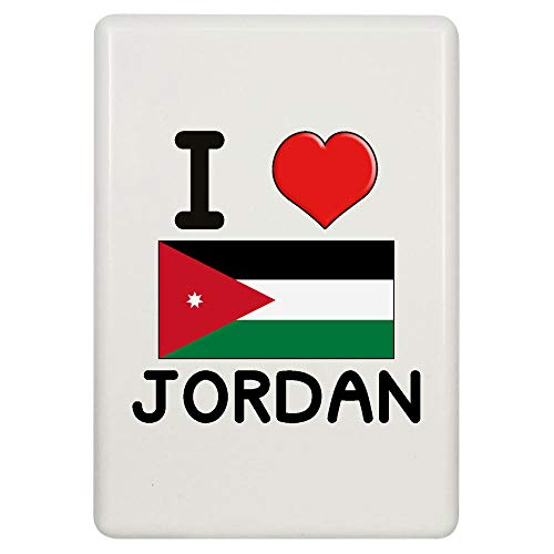 Stamp Press 'I Love Jordan' Kühlschrankmagnet (FM00000247)