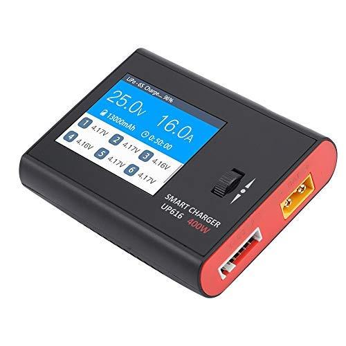 Victool Cargador de batería, Ultra Power UP616 400W Smart Balance Cargador de batería para Carga LiPo Accesorio Modelo RC