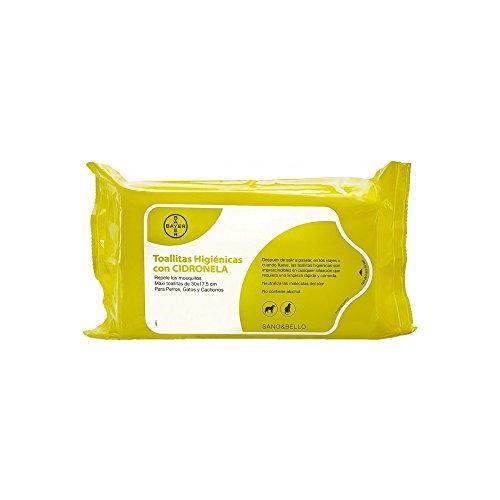 Bayer Sano&BelloPack de 35 ToallitasLimpiadorascon Cidronela - - 1 Pack de Toallitas ✅