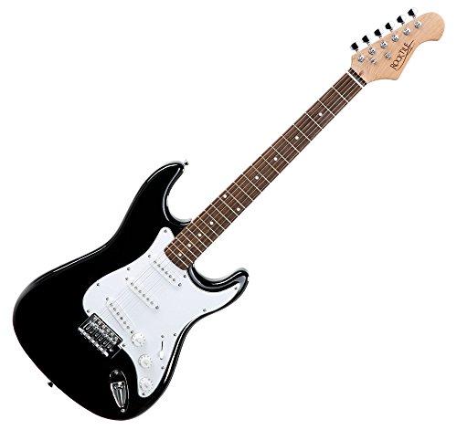 Rocktile 19331 - Pack guitarra eléctrica Banger 7 piezas, color negro