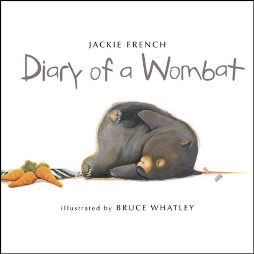 Diary of a Wombat audiobook cover art