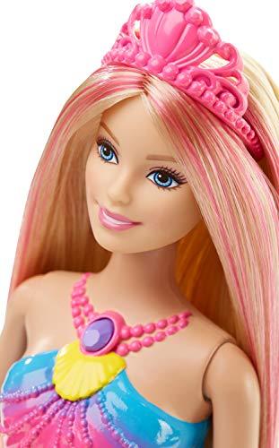 Barbie Sirène Magique de Couleurs Queue Lumière - 1