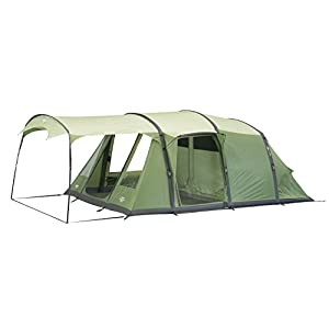 Vango Odyssey Inflatable Family Tunnel Tent, Epsom Green, Airbeam 500SC