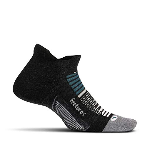 Feetures - Elite Max Cushion - No Show Tab - Athletic Running Socks for Men and Women