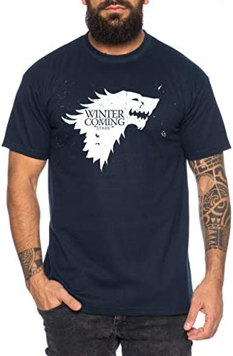 Coming Game Camiseta de Hombre Cool Thrones Shirt