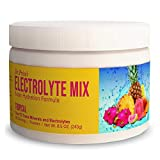 Electrolyte Mix Supplement Powder, 90 Servings, 72 Trace Minerals, Potassium, Sodium, Electrolyte Replacement Keto Drink | Tropical Flavor | Dr. Price's Vitamins, No Sugar, Vegan, Non-GMO