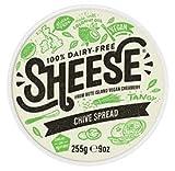 Sheese cremoso Untar Chive 255g   Vegan (Pack de 4)