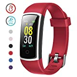 YAMAY Fitness Tracker with Blood Pressure Monitor Heart Rate Monitor Watch,IP68 Waterproof Activity...