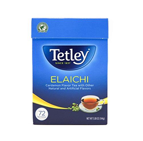 Tetley Tea, Elaichi (Cardamom), 72-Count Tea Bags (Pack of 3)