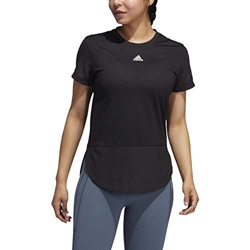 adidas AEROREADY Level 3 Tee - Women's Training L Black/White